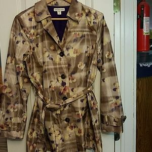 Coldwater Creek multi floral jacket